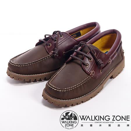 WALKING ZONE(男)經典英倫學院風雷根鞋男鞋-咖