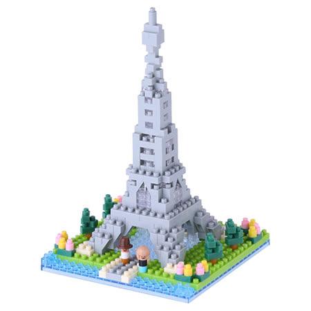 《Nano Block迷你積木》【 世界主題建築系列 】NBH - 097巴黎賽納沿岸