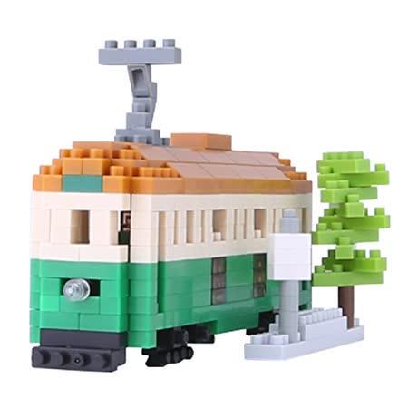 《Nano Block迷你積木》NBH-102 墨爾本輕軌電車