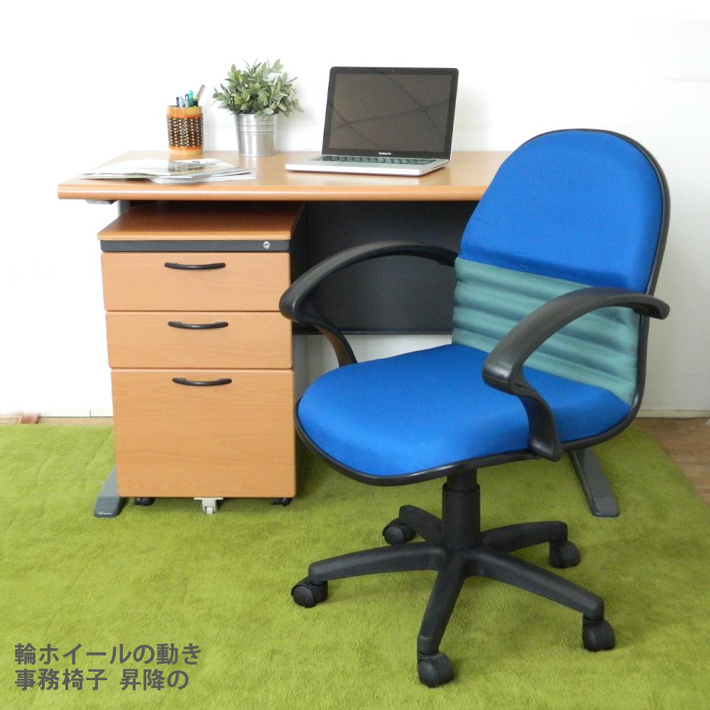 HAPPYHOME CD140HF-59木紋辦公桌櫃椅組Y699-15+Y702-1+FG5-HF-59