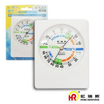 HomeResource虹瑞斯 室內外溫濕度計 THM-001