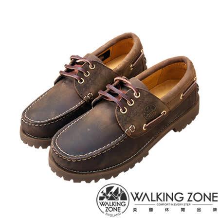 WALKING ZONE(男)經典復刻雷根鞋(棕)小牛皮手工_男女款尺寸皆有