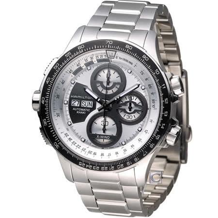 漢米爾頓 Hamilton 卡其御風者自動計時腕錶 H77726151