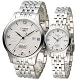 天梭 TISSOT Le Locle 立洛克幸福囍字限量機械腕錶 T41183350 T41118335