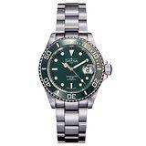 DAVOSA Ternos Ceramic 200米陶瓷框潛水腕錶綠-/40mm