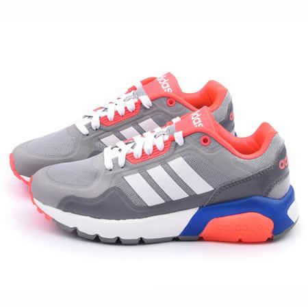 Adidas 女款 NEO RUN 9ties輕量慢跑鞋F98278-灰
