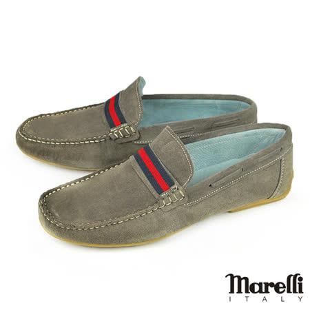 【marelli】手工縫製樂福休閒鞋 灰色(27629-GRYS)