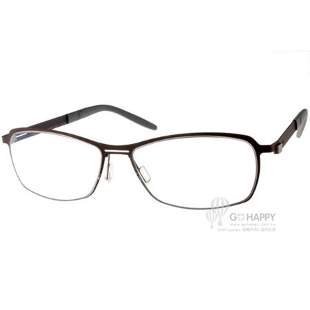 MARKUS T眼鏡 純鈦系列休閒款(棕) #MTT329 C007
