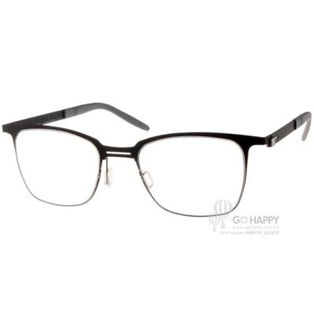 MARKUS T眼鏡 純鈦系列方框款(黑) #MTT332 C025