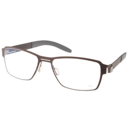 MARKUS T眼鏡 休閒方框款(棕) #MTT252 C007