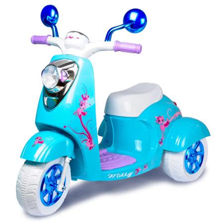 寶貝樂 冰雪兒童電動摩托車/電動機車