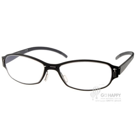 MARKUS T眼鏡 純鈦系列(黑) #MTM312 C051