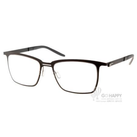 MARKUS T眼鏡 純鈦系列休閒款(霧黑) #MTT330 C015
