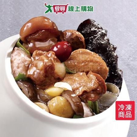 老協珍海味街烏參佛跳牆1685g+-5%/盒(年菜)