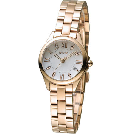 ALBA WIRED F 耶誕限定東京女孩簡約時尚腕錶 VJ22-KH70K