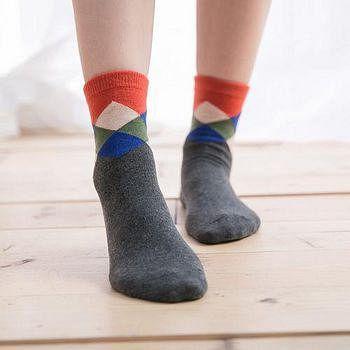蒂巴蕾 Deparee Chic 流行教主 warm socks 格紋