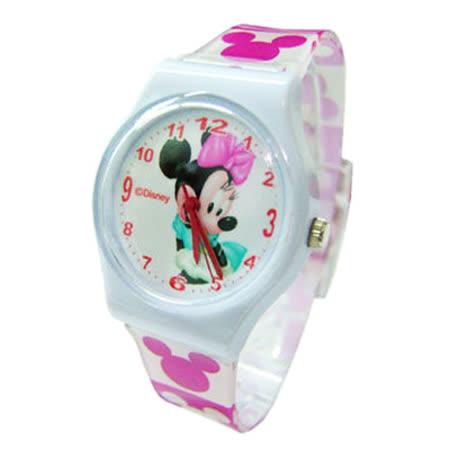 【Disney迪士尼】卡通錶(大)---快樂米妮