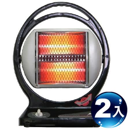 聯統牌手提式石英管電暖器 LT-663-2入組