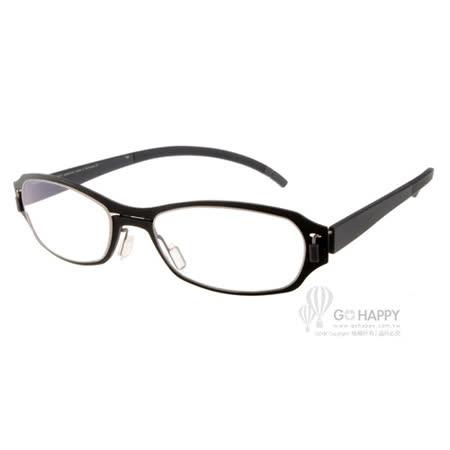 MARKUS T眼鏡 純鈦系列(黑) #MTM313 C051