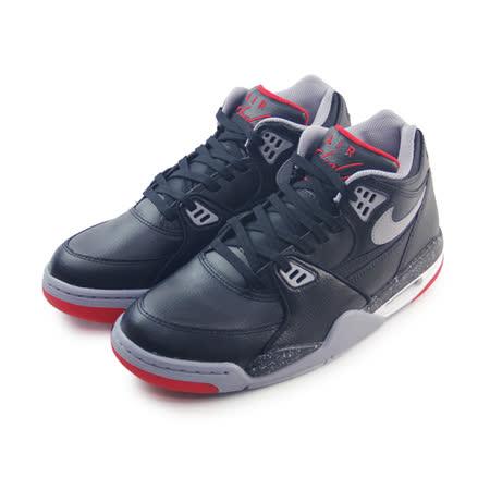 (男)NIKE AIR FLIGHT 89 籃球鞋 黑/水泥灰-306252026