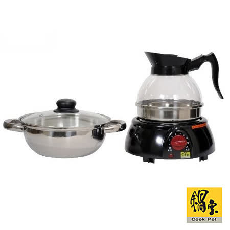 【鍋寶】料理雙享養生泡茶壺 KT-1815C