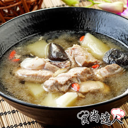 【食尚達人】青木瓜排骨湯4件組(500g/包)