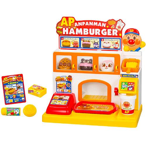 《 麵包超人 》ANP漢堡店玩具