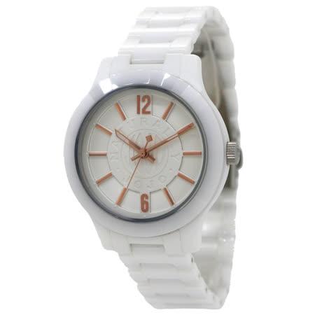 NATURALLY JOJO    無限展現經典陶瓷腕錶-白