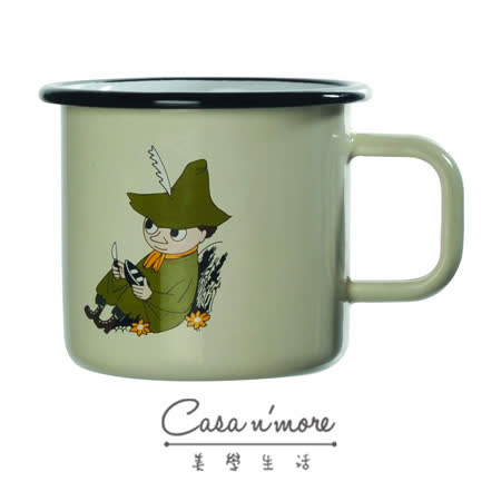 Muurla 馬克杯 咖啡杯 琺瑯 史力奇 370 ml