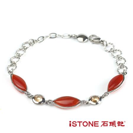 石頭記 紅瑪瑙手鍊-優雅王妃