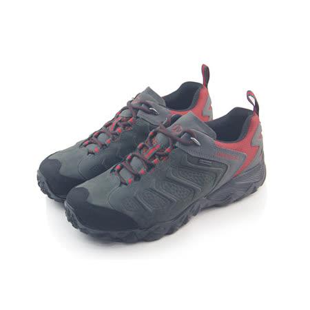 (男)MERRELL CHAMELEON SHIFT GORE-TEX 戶外鞋 暗綠/紅-ML32127