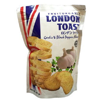 異國之戀土司餅(倫敦胡椒) 40g