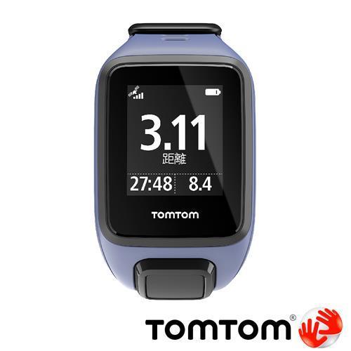 TOMTOM SPARK 音樂健身運動手錶 (紫色細錶帶)