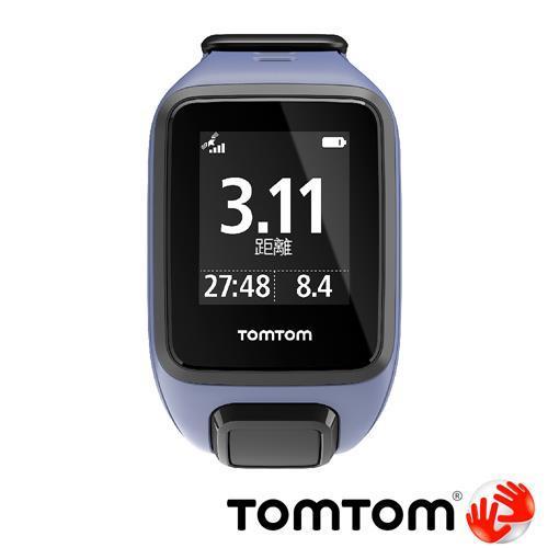 TOMTOM SPARK 音樂心率健身運動手錶 (紫色細錶帶)