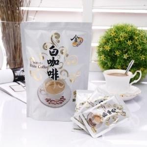 【啡茶不可】二合一無加糖白咖啡 (15包入)