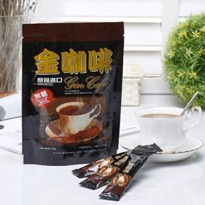 【啡茶不可】二合一無加糖金咖啡 (10條入)