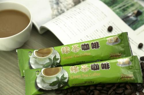 【啡茶不可】綠茶咖啡 (15條入)