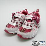 日本瞬足羽量競速童鞋-甜心亮片蝴蝶節造型款-9251P-(15cm)