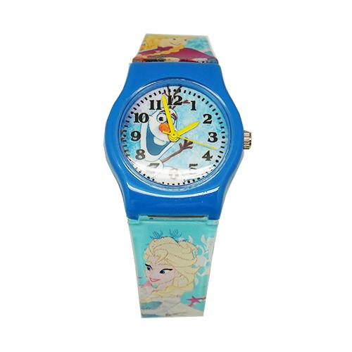 迪士尼-夏季冰雪奇緣卡通錶(中)F-67