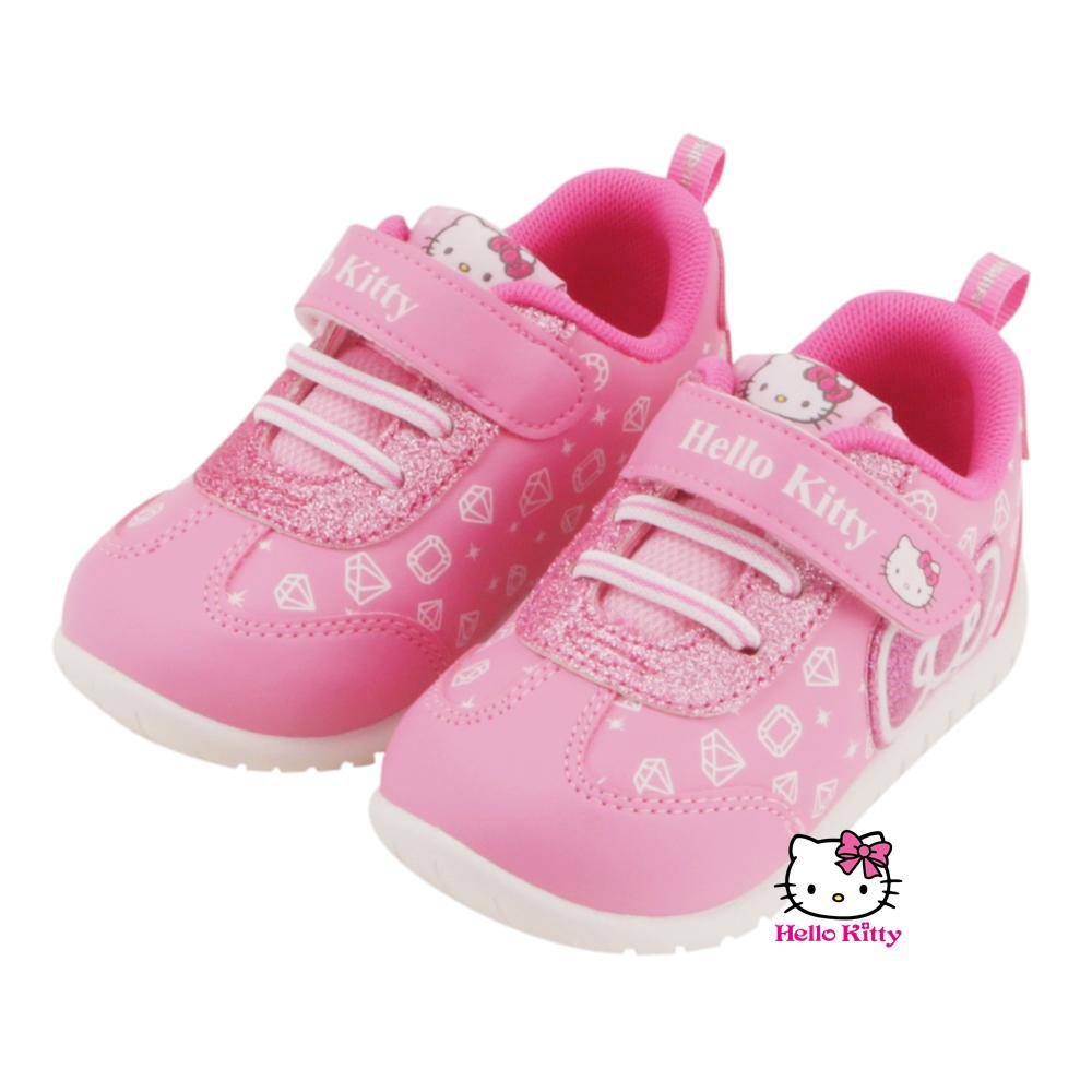 ~MODAbobo~Hello Kitty 小中童段亮亮童鞋~粉 T5A9~715112