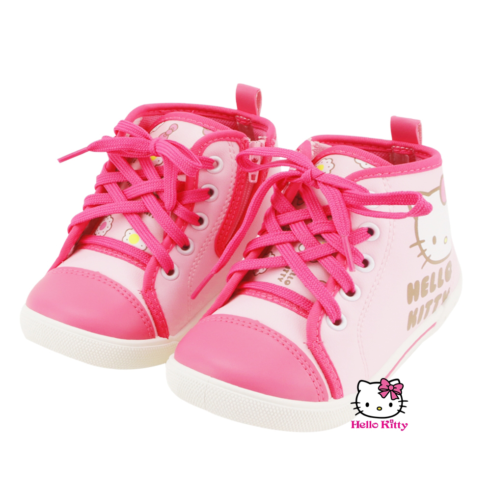 ~MODAbobo~Hello Kitty 小中童段鞋帶甜美童鞋~粉 T5A1~71512