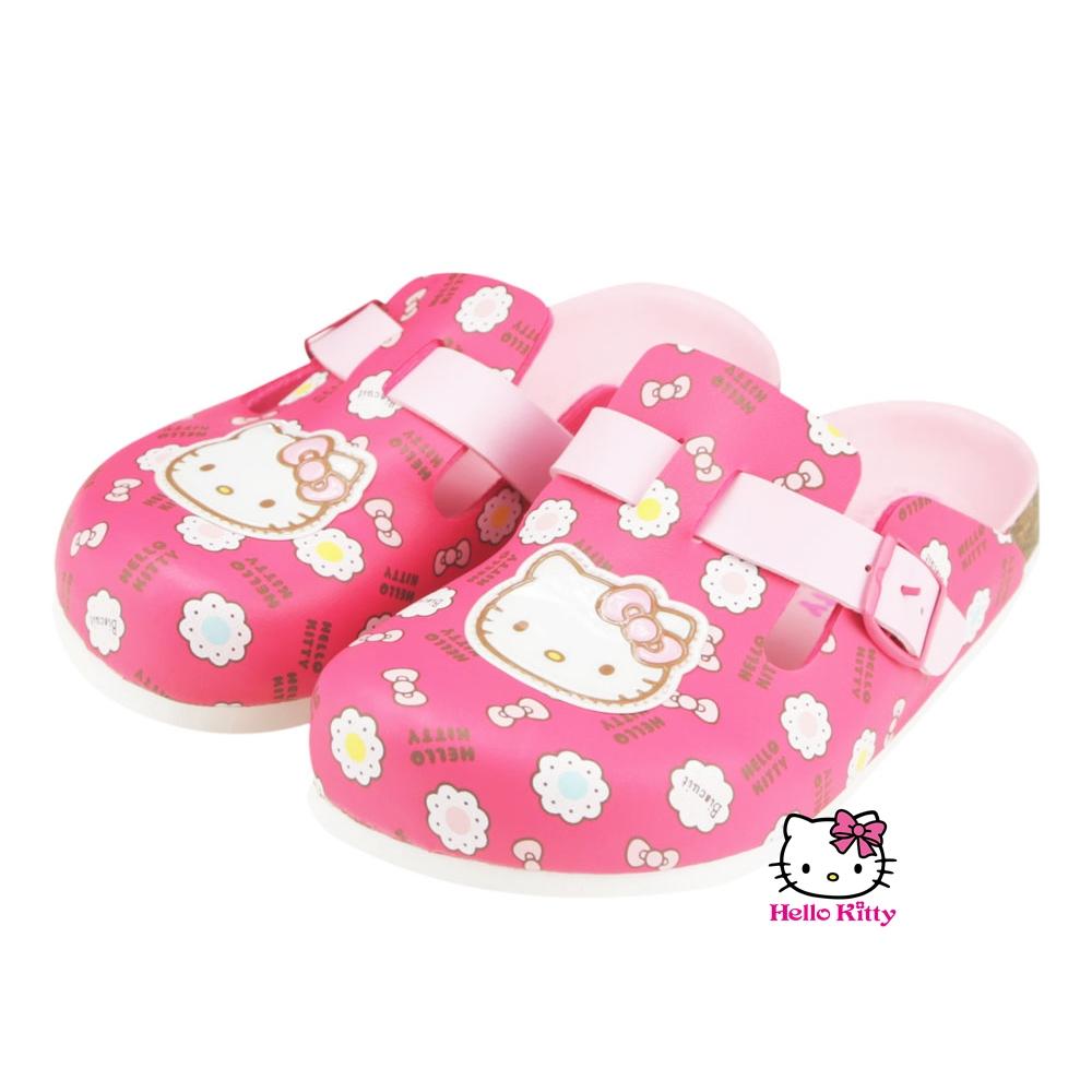 ~MODAbobo~Hello Kitty 中大童段甜美繽紛KITTY色系休閒鞋~桃T5A