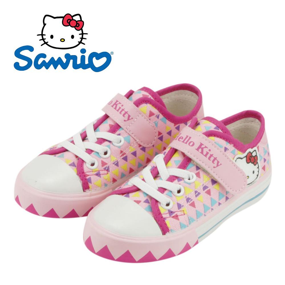 ~MODAbobo~Hello Kitty 小中童段 繽紛加硫童鞋~粉T5S8~71591