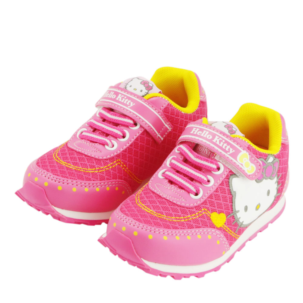 ~MODAbobo~Hello Kitty 中大童段 透氣 鞋~桃 T5S9~715924
