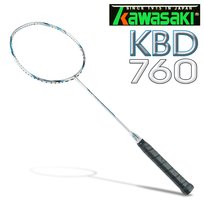 Kawasaki KBD760 碳纖維超輕羽球拍 (藍)