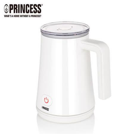 【荷蘭公主 PRINCESS】 磁浮奶泡機 雅痞白 (243002)