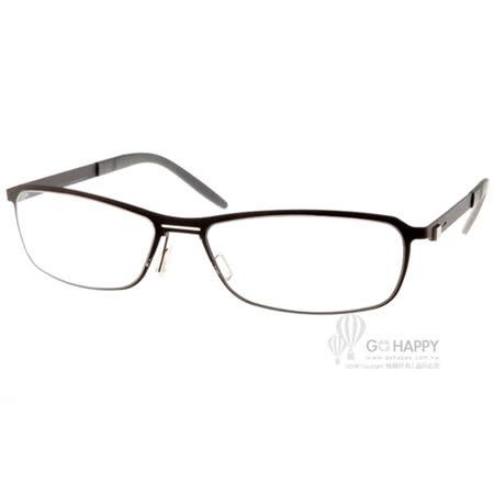 MARKUS T眼鏡 德國工藝半框款(黑) #MTT313 C007