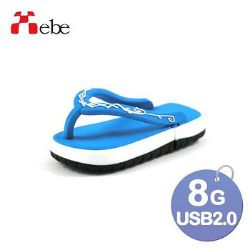 Xebe集比 8G 造型USB隨身碟 拖鞋
