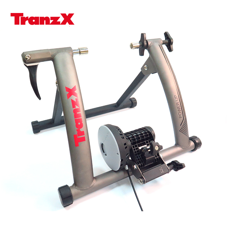 Tranz X JD-128磁阻式訓練台 噴砂灰城市綠洲 腳踏車.健身車.訓練台.立車架.