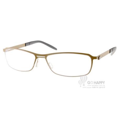 MARKUS T眼鏡 德國工藝半框款(金) #MTT313 C047